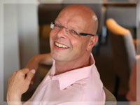 Mindfulness trainer Jan van Hoof
