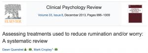 Wetenschappelijk bewijs effecten Mindfulness B