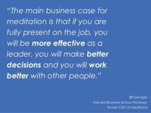 Mindfulness training voor bedrijven